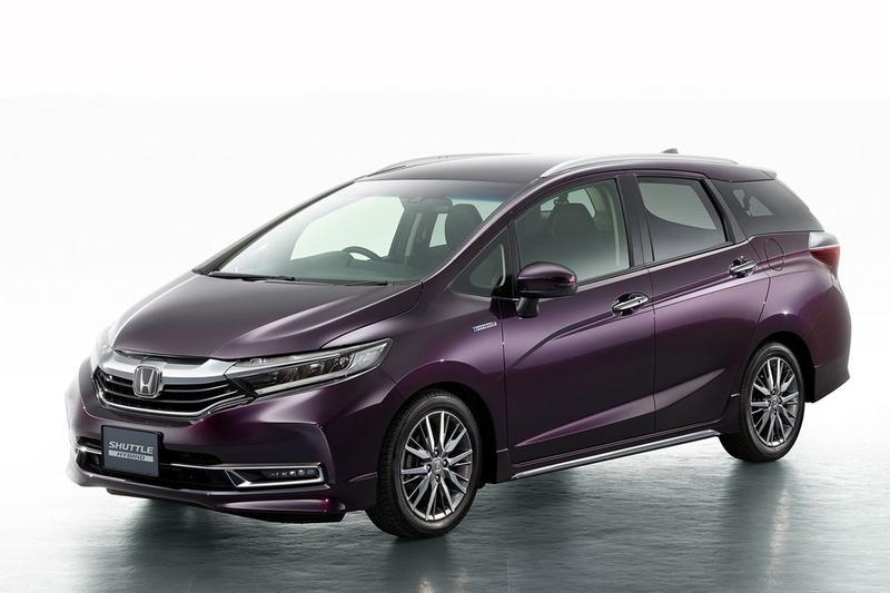Honda Shuttle facelift