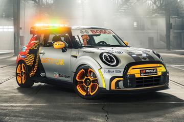 Mini Electric Pacesetter is nieuwe Safety Car