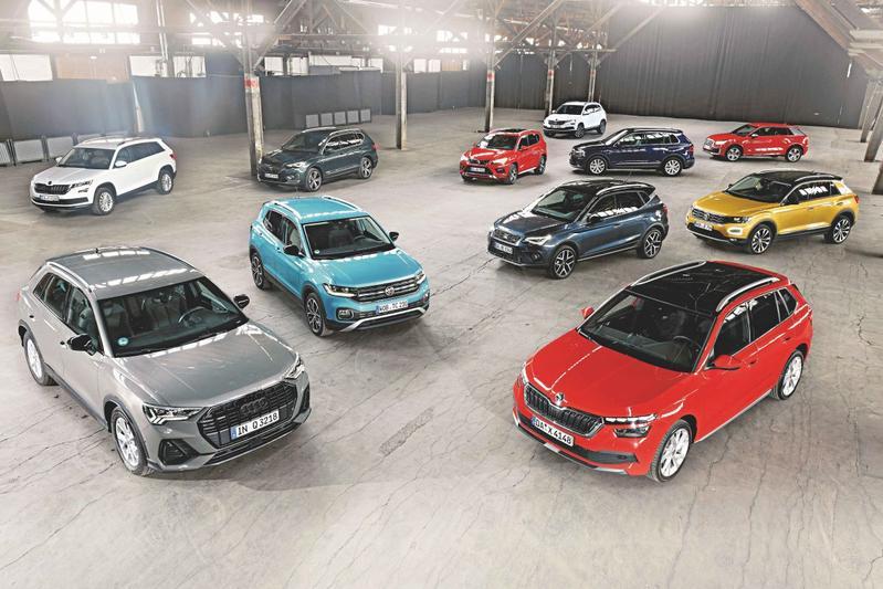 VAG Volkswagen Groep cross-over SUV