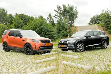 Audi Q7 vs. Land Rover Discovery - Dubbeltest