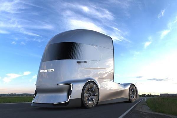 Ford F-Vision Future Truck is Tesla Semi-rivaal