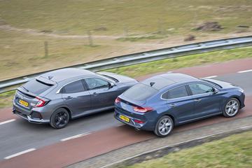 Honda Civic 1.0 i-VTEC - Hyundai i30 Fastback 1.4 T-GDI