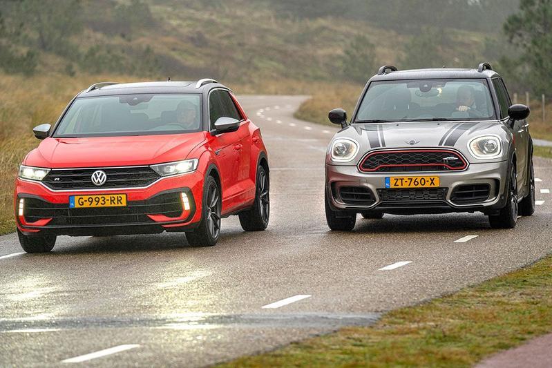 Volkswagen T-Roc R vs. Mini Countryman JCW All4 - Dubbeltest