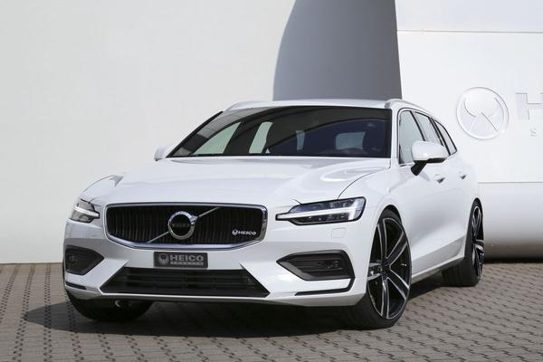 Heico Sportiv neemt Volvo V60 onder handen