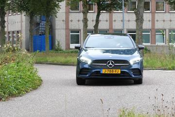 Mercedes A250e - Achteruitkijkspiegel