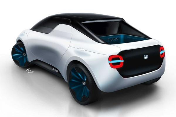 Honda toont Tomo Concept