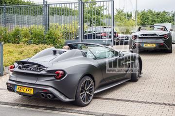 Betrapt: Aston Martin Vanquish Zagato Speedster