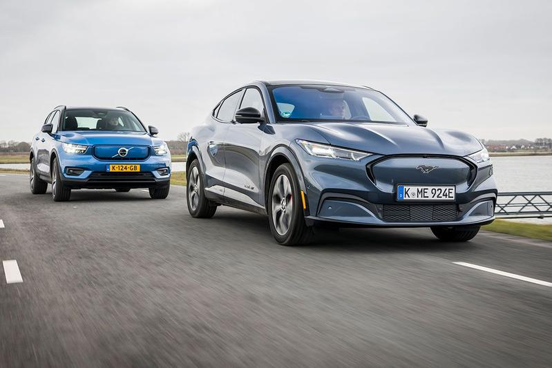 Test: Ford Mustang Mach-E vs. Volvo XC40 P8 AWD