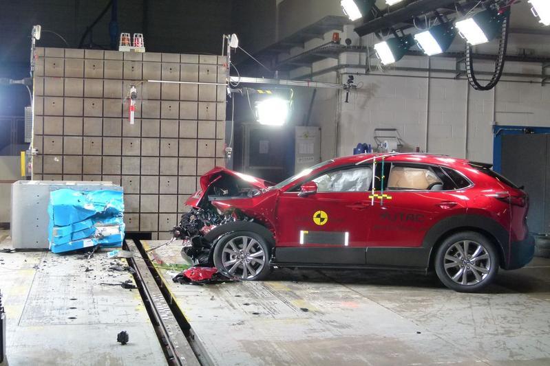 EuroNCAP Mazda CX-30