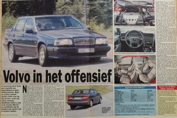 Volvo 850 - Eerste rijtest - Uit de Oude Doos