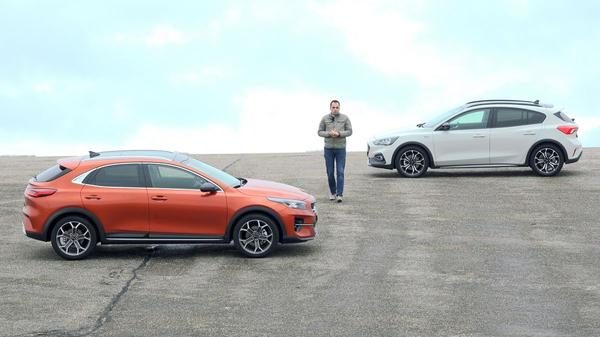 Kia XCeed vs. Ford Focus Active - Dubbeltest