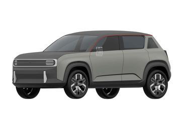 Nieuwe Renault 4 op patentbeeld!