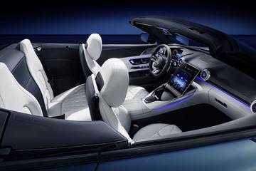 Mercedes-AMG SL toont interieur: 2+2!