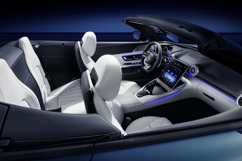 Mercedes-AMG SL interieur