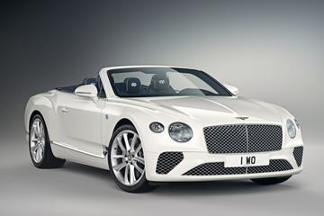 Bentley toont Continental GT Convertible Bavaria Edition by Mulliner
