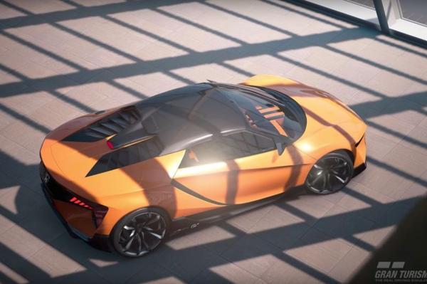 'Baby-NSX' blijkt Honda Sports Vision Gran Turismo