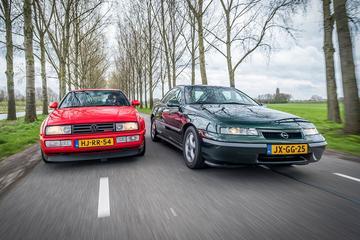 Volkswagen Corrado VR6 vs. Opel Calibra 2.5i-V6 - Classics Dubbeltest