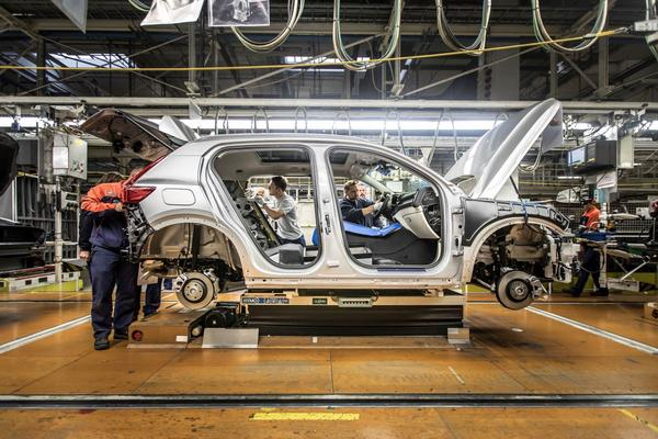 Productie Volvo XC40 gestart