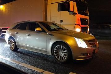 In het wild: Cadillac CTS Wagon (2011)