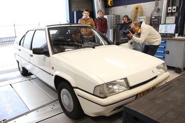 Citroën BX GTi – Op de Rollenbank