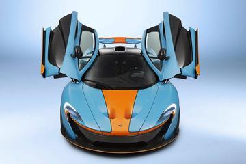 McLaren steekt P1 in Gulf-outfit
