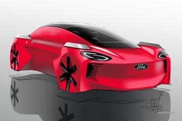 Ford: 'Zo zien kinderen de auto van de toekomst graag'