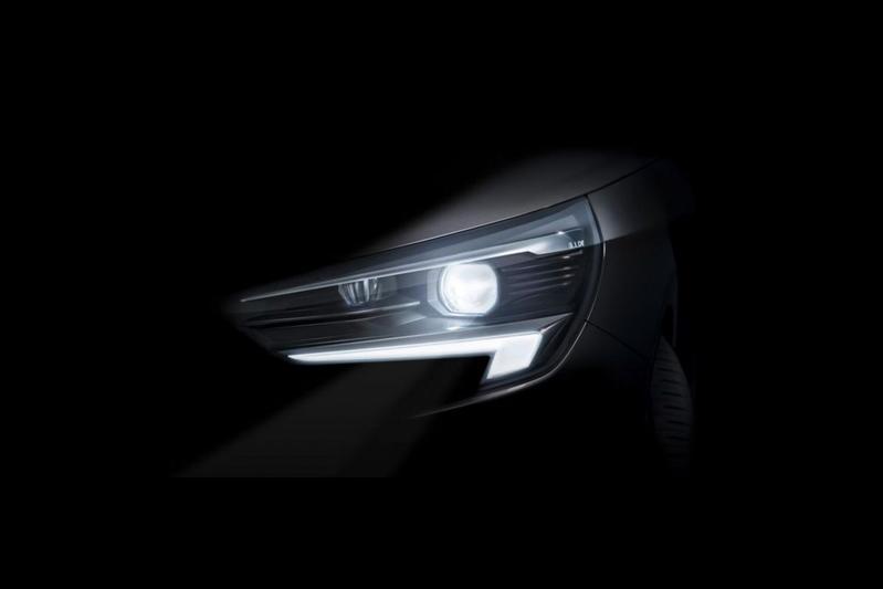 Opel Corsa teaser koplamp