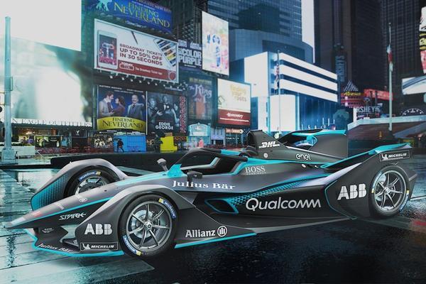 Nieuwe Formule E-racer gepresenteerd
