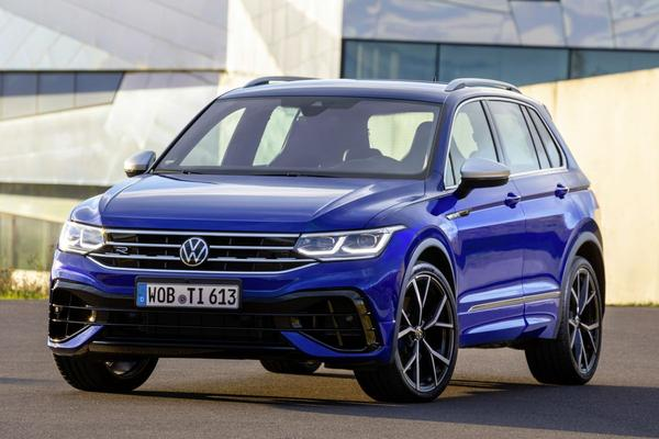 In volle glorie: Volkswagen Tiguan R