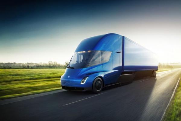 Tesla Semi eindelijk onthuld