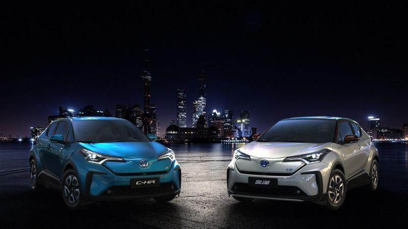 Toyota C-HR EV en IZOA EV en Rhombus
