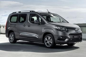 Toyota maakt prijzen Proace City Verso bekend