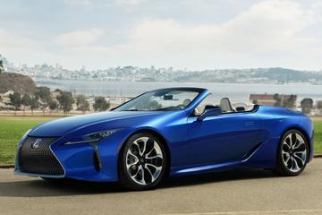 Productierijp: Lexus LC 500 Convertible