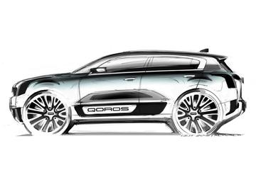 Qoros 2 SUV Concept: potentiële Captur-concurrent