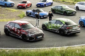 Audi laat RS3 Sportback en Limousine alvast zien
