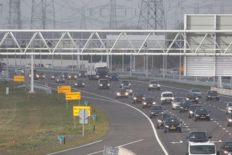snelweg A1 Muiden Diemen