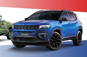 Jeep viert vrijheid met Compass Night Eagle Liberty Edition