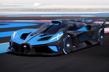 Bugatti Bolide is extreem machtsvertoon