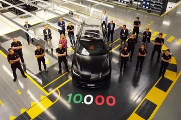 Lamborghini bouwt tienduizendste Urus