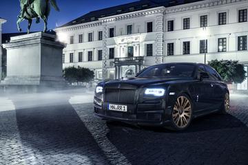 Spofec geeft Rolls-Royce Ghost opnieuw 709 pk