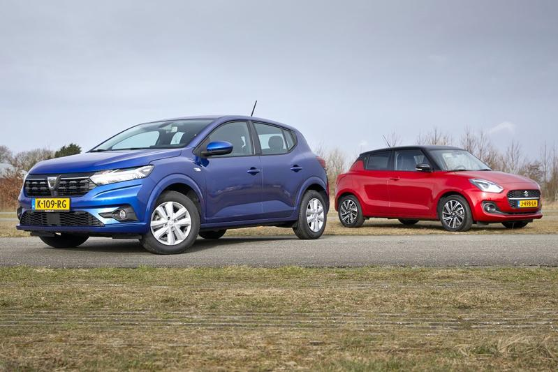 Test: Dacia Sandero vs. Suzuki Swift