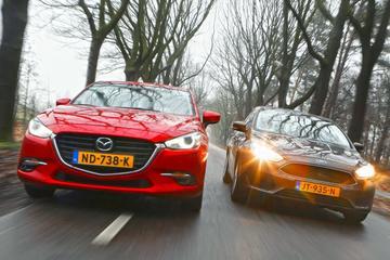 Ford Focus - Mazda 3