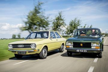 Peugeot 304 vs. Audi 80 - Classics Dubbeltest