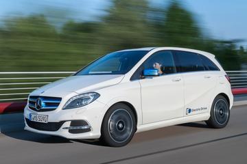 Productiestop elektrische Mercedes B-klasse