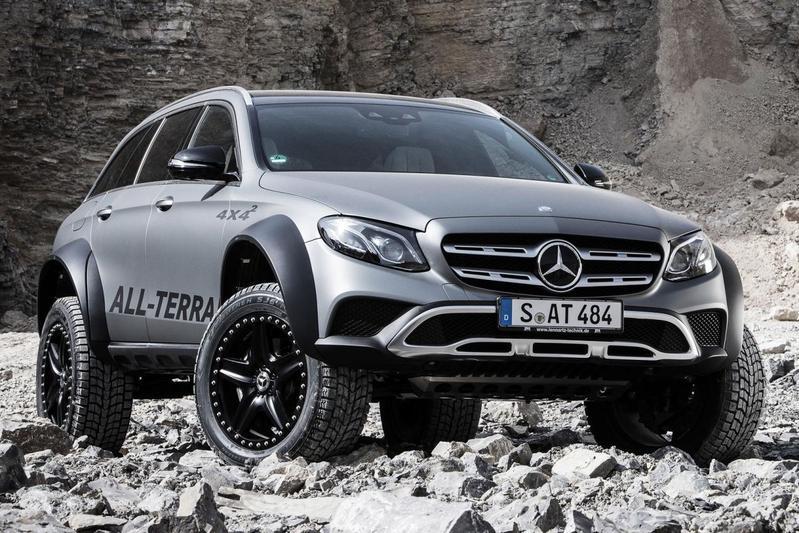 Mercedes-Benz E-klasse als All-Terrain 4x4²