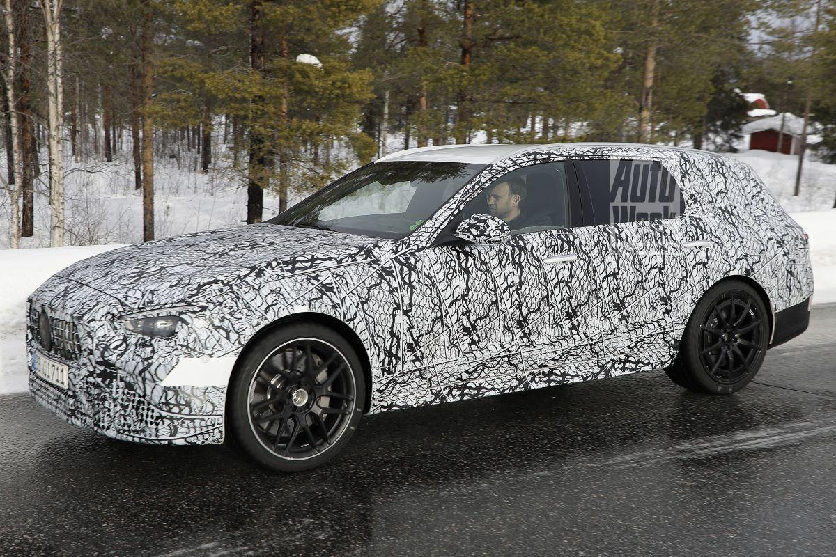 Mercedes-AMG C 63 Estate gesnapt