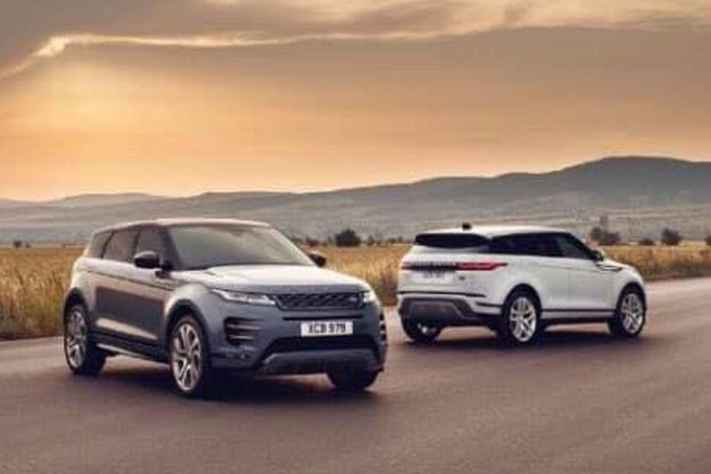 Gelekt: Land Rover Range Rover Evoque