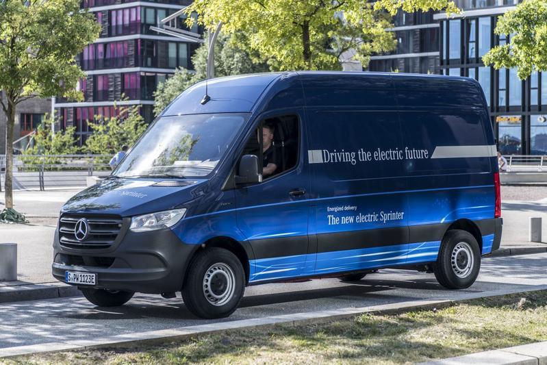 Mercedes-Benz eSprinter elektrische Sprinter