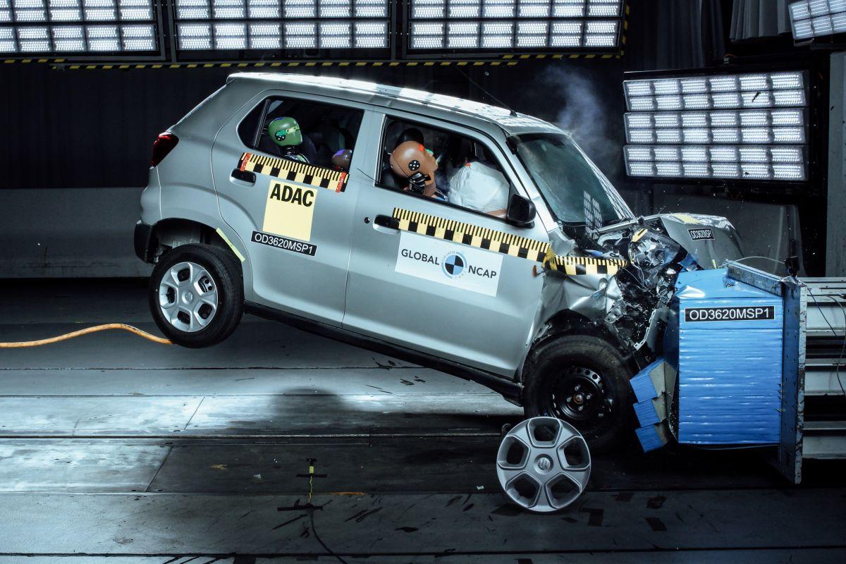 Global NCAP Suzuki S-Presso Kia Seltos en Hyundai Grand i10