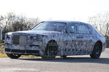 Spyshots nieuwe Rolls-Royce Phantom